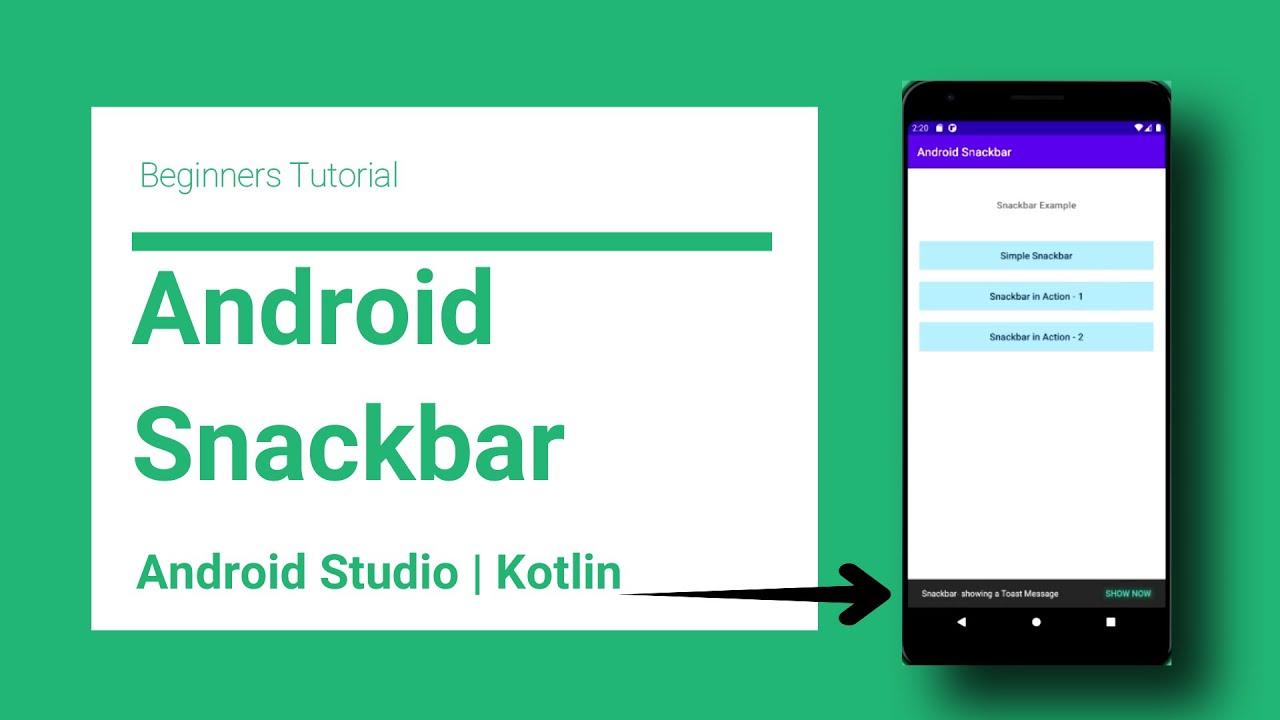 Android Snackbar
